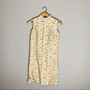 Vintage 60s mod mini dress